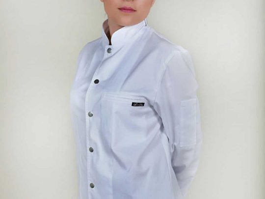 Σακάκι Chef - Μάγειρα Inferno με μοναστηριακό γιακά