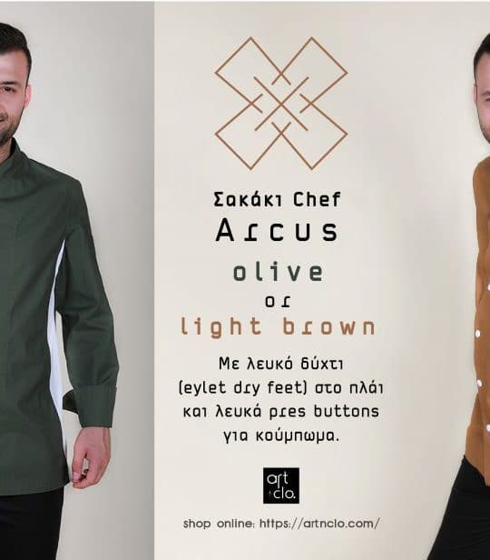 Arcus chef jacket new design