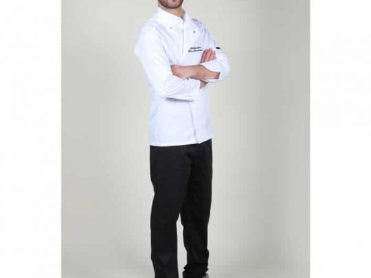 Οικονομικό σετ μαγείρων με μπλούζα με press buttons